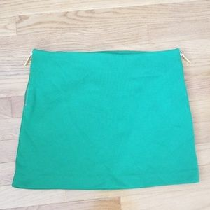 MICHAEL Michael Kors Size 6 Green Mini Skirt